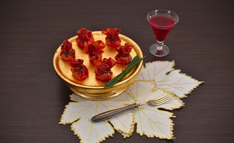 Fagottini di Bresaola al formaggio -home